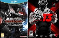 Купить игру Tekken: Tag Tournament 2 + WWE 2013 EXPORT (Wii U) на Nintendo Wii U диск