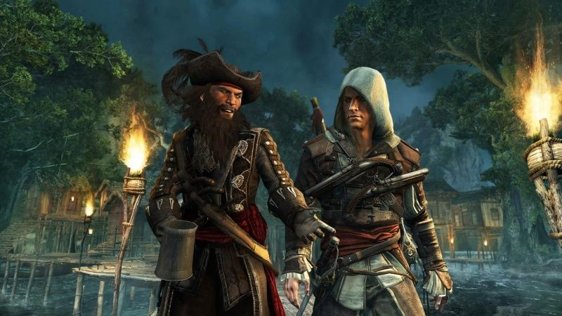 Assassin's Creed 4 (IV): Черный флаг (Black Flag) Русская версия (PS3) USED Б/У