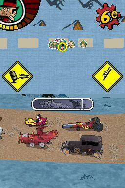 Игра Wacky Races Crash and Dash (DS) для Nintendo DS