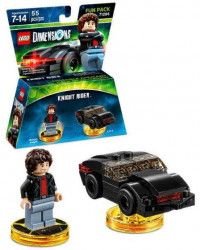 LEGO Dimensions Fun Pack Knight Rider (Michael Knight, K.I.T.T.) Фигурки Lego Dimensions