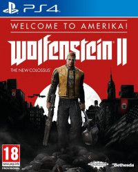 Купить Игру Wolfenstein 2 (II): The New Colossus Welcome to Amerika (PS4) на Playstation 4 диск