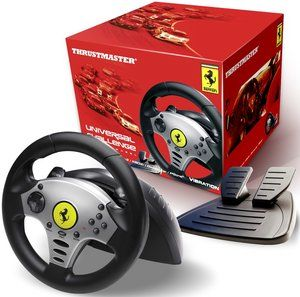 Руль Universal Challenge Racing Wheel (PC/PS2/PS3/GameCube) (PS2) для Sony PlayStation 2