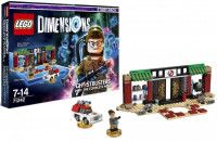LEGO Dimensions Story Pack - Ghostbusters (Zhu's Chinese Restaurant, Abby Yates, Ecto-1) Фигурки Lego Dimensions