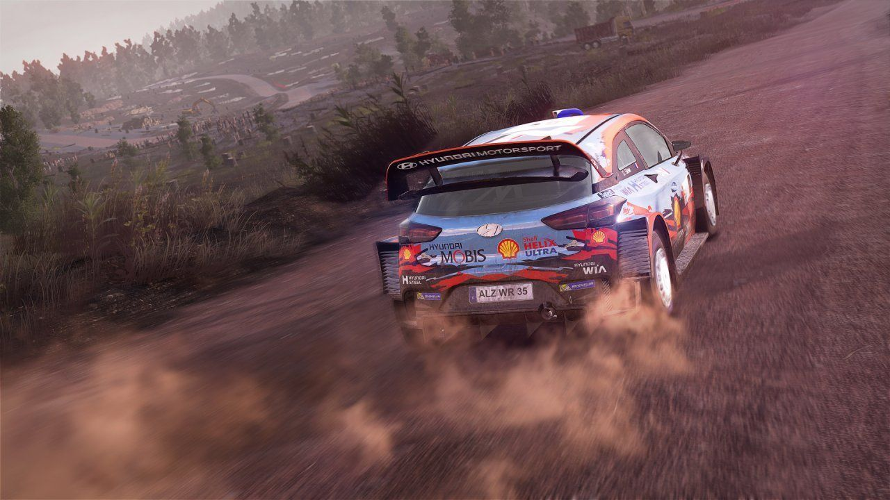 WRC 8: FIA World Rally Championship Русская версия (PS4)