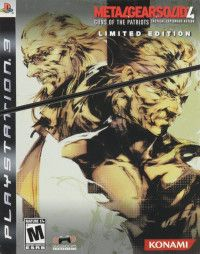 Купить игру Metal Gear Solid 4 Guns Of The Patriots (Limited Edition) (PS3) на Playstation 3 диск