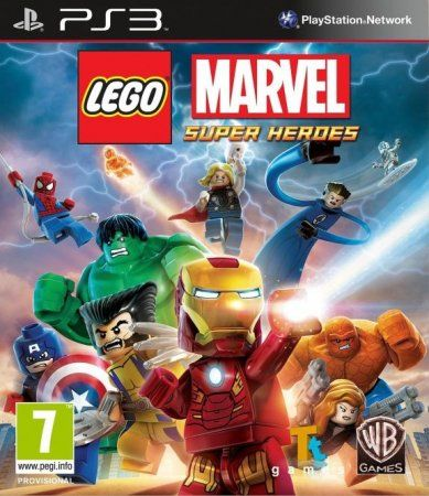 LEGO Marvel: Super Heroes Русская Версия (PS3) USED Б/У