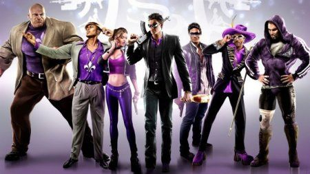 Saints Row 4 (IV): Re-Elected and Gat Out of Hell Русская Версия Box (PC)