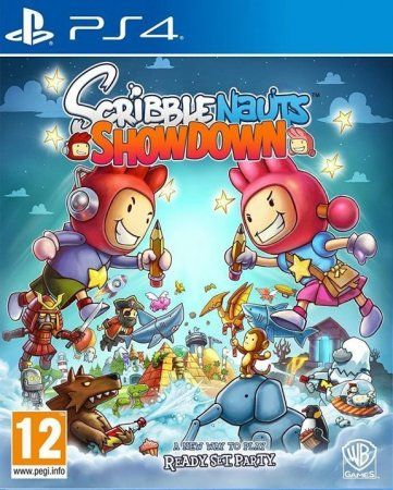 Игра Scribblenauts Showdown (PS4) Playstation 4