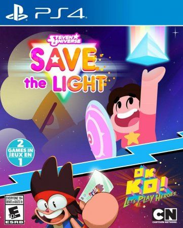 Игра Steven Universe: Save the Light and OK K.O! Let's Play Heroes (PS4) Playstation 4