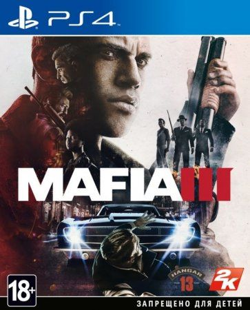 Игра Mafia 3 (III) Русская версия (PS4) Playstation 4