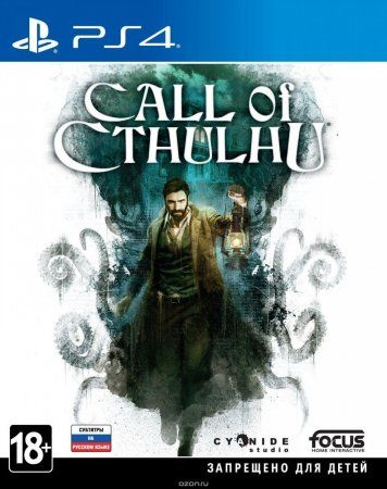 Call of Cthulhu Русская Версия (PS4)
