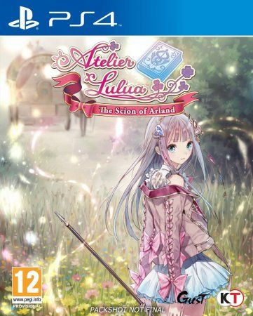 Игра Atelier Lulua: The Scion of Arland (PS4) Playstation 4