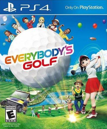 Игра Everybody's Golf (PS4) Playstation 4