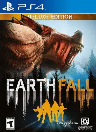 Игра Earthfall Deluxe Edition Русская Версия (PS4) Playstation 4