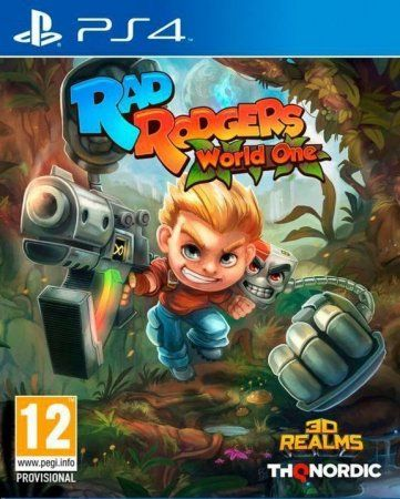 Игра Rad Rodgers: World One Русская версия (PS4) Playstation 4