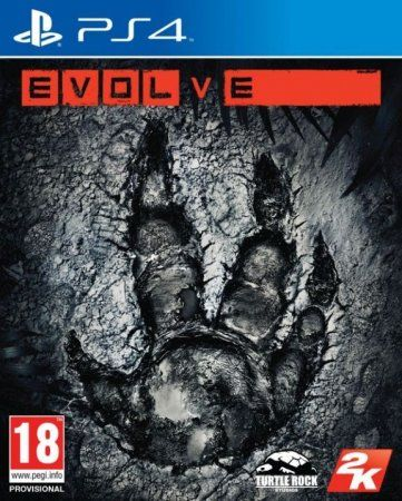 Игра Evolve (PS4) Playstation 4