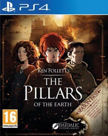 Игра The Pillars of the Earth Русская Версия (PS4) Playstation 4