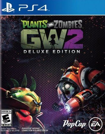 Игра Plants vs. Zombies: Garden Warfare 2 Deluxe Edition (PS4) Playstation 4