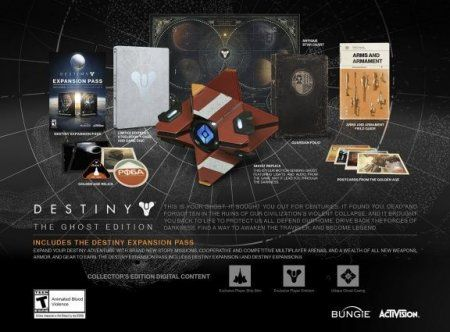 Игра Destiny: The Ghost Edition (PS4) Playstation 4