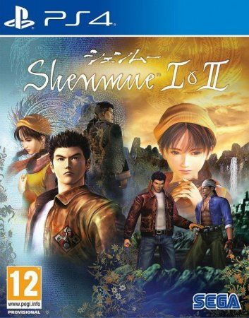 Игра Shenmue 1 (I) and 2 (II) HD Remaster (PS4) Playstation 4