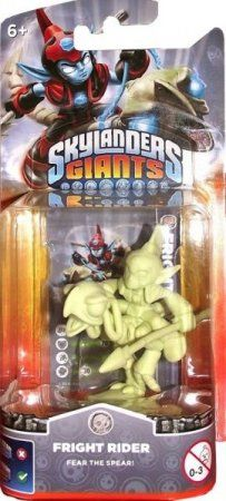 Skylanders Giants: Интерактивная фигурка Fright Rider Glow In The Dark