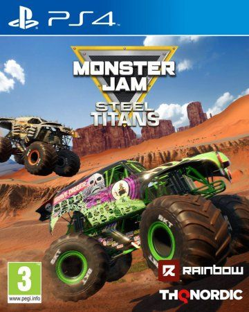 Игра Monster Jam: Steel Titans (PS4) Playstation 4
