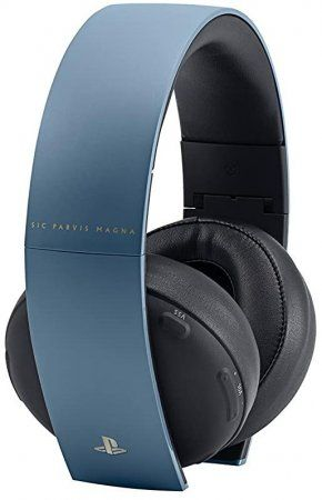 Гарнитура беспроводная 7.1 Sony Gold Wireless Stereo Headset 2.0 Uncharted 4 Limited Edition (CECHYA-0083)