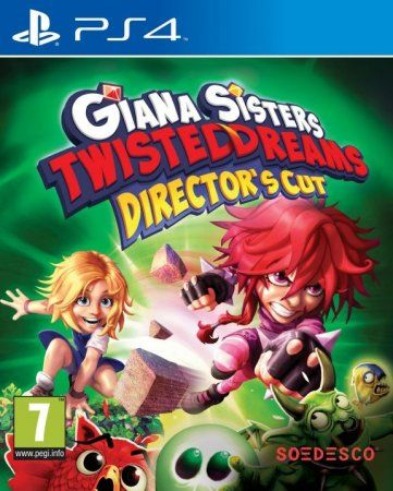 Игра Giana Sisters: Twisted Dreams Directors Cut Русская Версия (PS4) Playstation 4