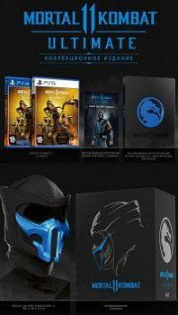 Игра Mortal Kombat 11 (XI) Ultimate. Kollector's Edition Русская версия (PS4/PS5) Playstation 4