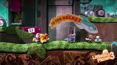 Игра LittleBigPlanet 3 (PS4) Playstation 4