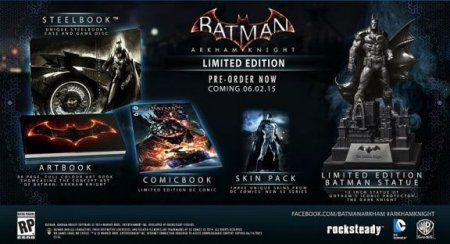 Игра Batman: Рыцарь Аркхема (Arkham Knight) Memorial Edition Русская Версия (PS4) Playstation 4