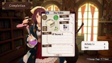 Игра Atelier Sophie: The Alchemist of the Mysterious Book (PS4) Playstation 4