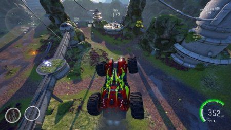 GRIP Combat Racing - Rollers vs. AirBlades Ultimate Edition (Switch)