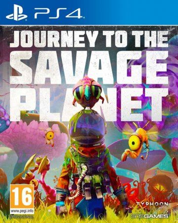 Игра Journey to the Savage Planet (PS4) Playstation 4