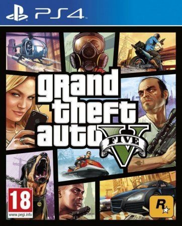 Игра GTA: Grand Theft Auto 5 (V) (PS4) Playstation 4