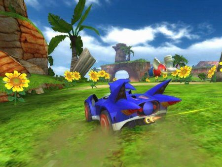 Купить игру Sonic and SEGA: All-Stars Racing (Wii/WiiU) на Nintendo Wii диск