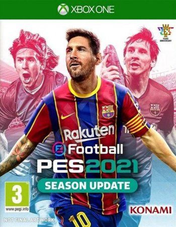 Pro Evolution Soccer 2021 (eFootball PES 2021 Season Update) Русская Версия (Xbox One)