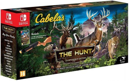 Cabela's: The Hunt - Championship Edition Bundle (Игра + Ружье) (Switch)