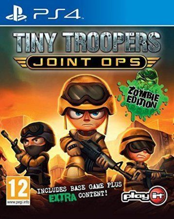 Игра Tiny Troopers Joint Ops: Zombie Edition (PS4) Playstation 4