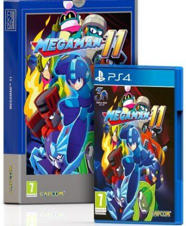 Mega man: 11 Collector's Edition (PS4)