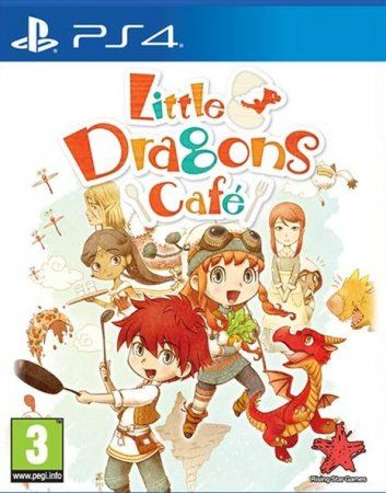 Игра Little Dragons Cafe. Limited Edition (PS4) Playstation 4