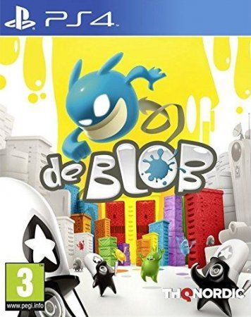 Игра de Blob (PS4) Playstation 4