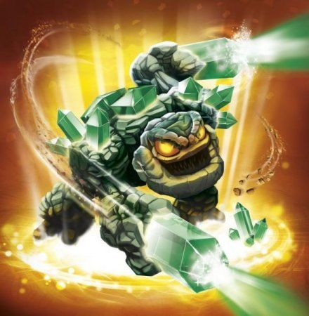 Skylanders Giants: Интерактивные фигурки Triple Pack (Prism Break,Eruptor,Drobot)