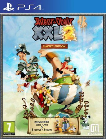 Asterix and Obelix XXL2 Limited Edition Русская Версия (PS4)