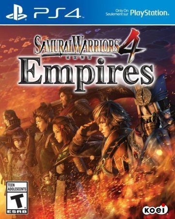 Игра Samurai Warriors 4: Empires (PS4) Playstation 4