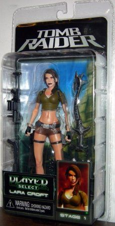 Фигурка Player Select Lara Croft 7 (Neca)