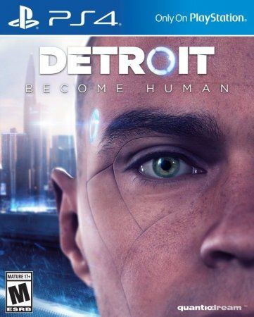 Игра Detroit: Стать Человеком (Become Human) (PS4) Playstation 4